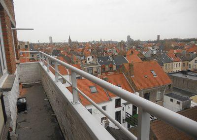 Maatwerk aluminium balustrade
