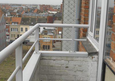 Balustrade aluminium op maat