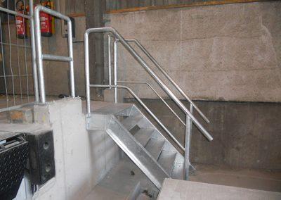 Metaalconstructies aluminium - trap op maat 2