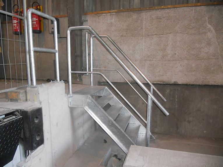 Metaalconstructies aluminium - trap op maat
