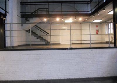 Inox balustrade Roeselare
