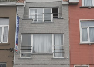 Balustrade in inox