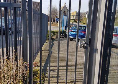 Poorten en hekkens op maat