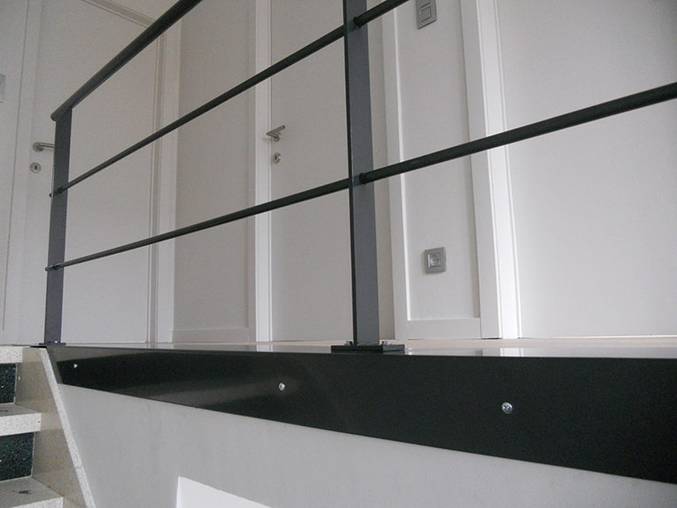 Balustrade in staal