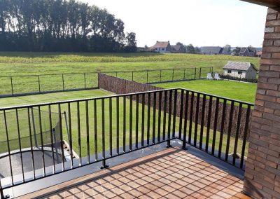 Aluminium balustrade - zwart - NDR Constructies
